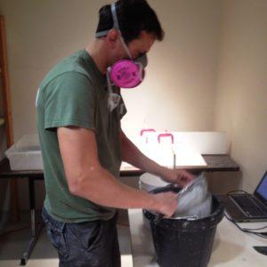 Sifting Plaster
