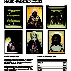 Alaska Liturgical Supply Catalogue Design By Emily Longbrake