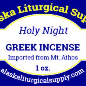 Alaska Liturgical Supply Product Label B Y Emily Longbrake