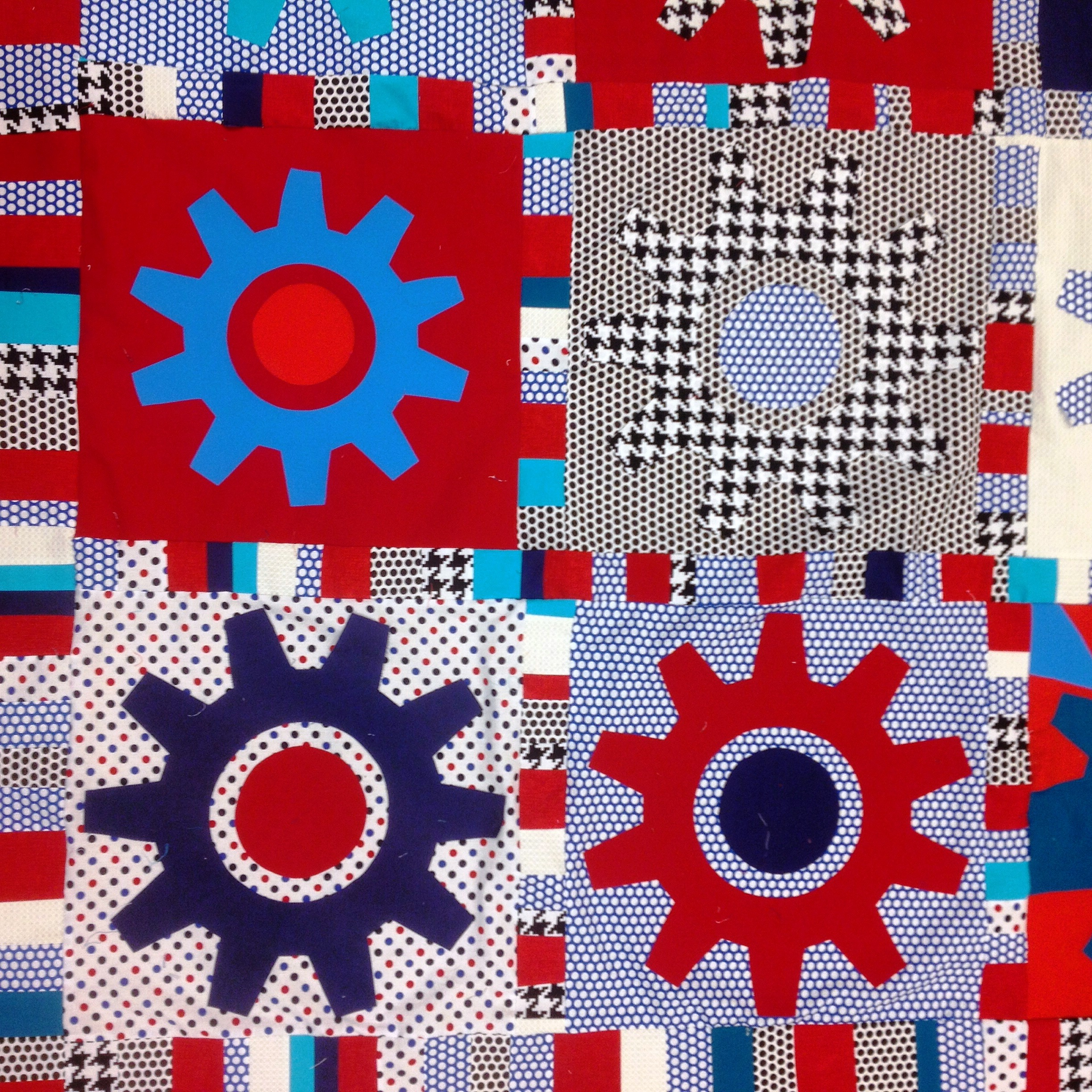 Day 211: Bright Idea Quilt