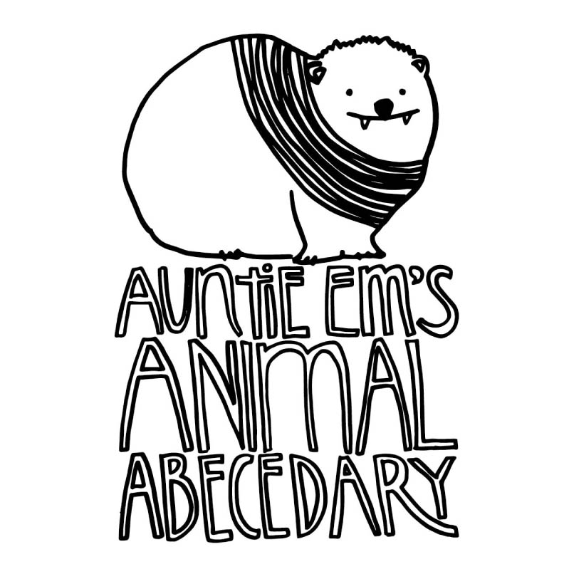 Day 249: Auntie Em's Animal Abecedary, Part 1