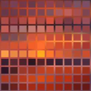 Sunset Object Mosaic 01