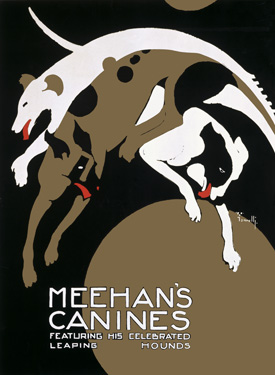 0000-3003-Meehans-Leaping-Hound-Dog-Circus-Poster