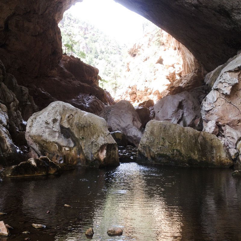 Photos: Tonto Natural Bridge State Park   emily longbrake