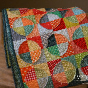 Applique Scrap Quilt