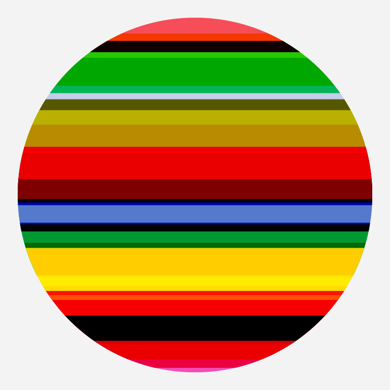 day 338: celestial sphere stripes