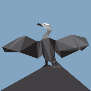 Geometric Bird Patterns 02