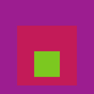 Josef Albers Square Tribute 12