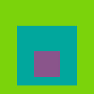 Josef Albers Square Tribute 13