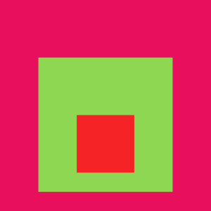 Josef Albers Square Tribute 14
