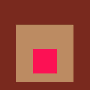 Josef Albers Square Tribute 15