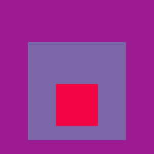 Josef Albers Square Tribute 16