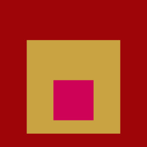 Josef Albers Square Tribute 24