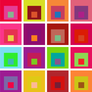 Josef Albers Square Tribute Featured 25
