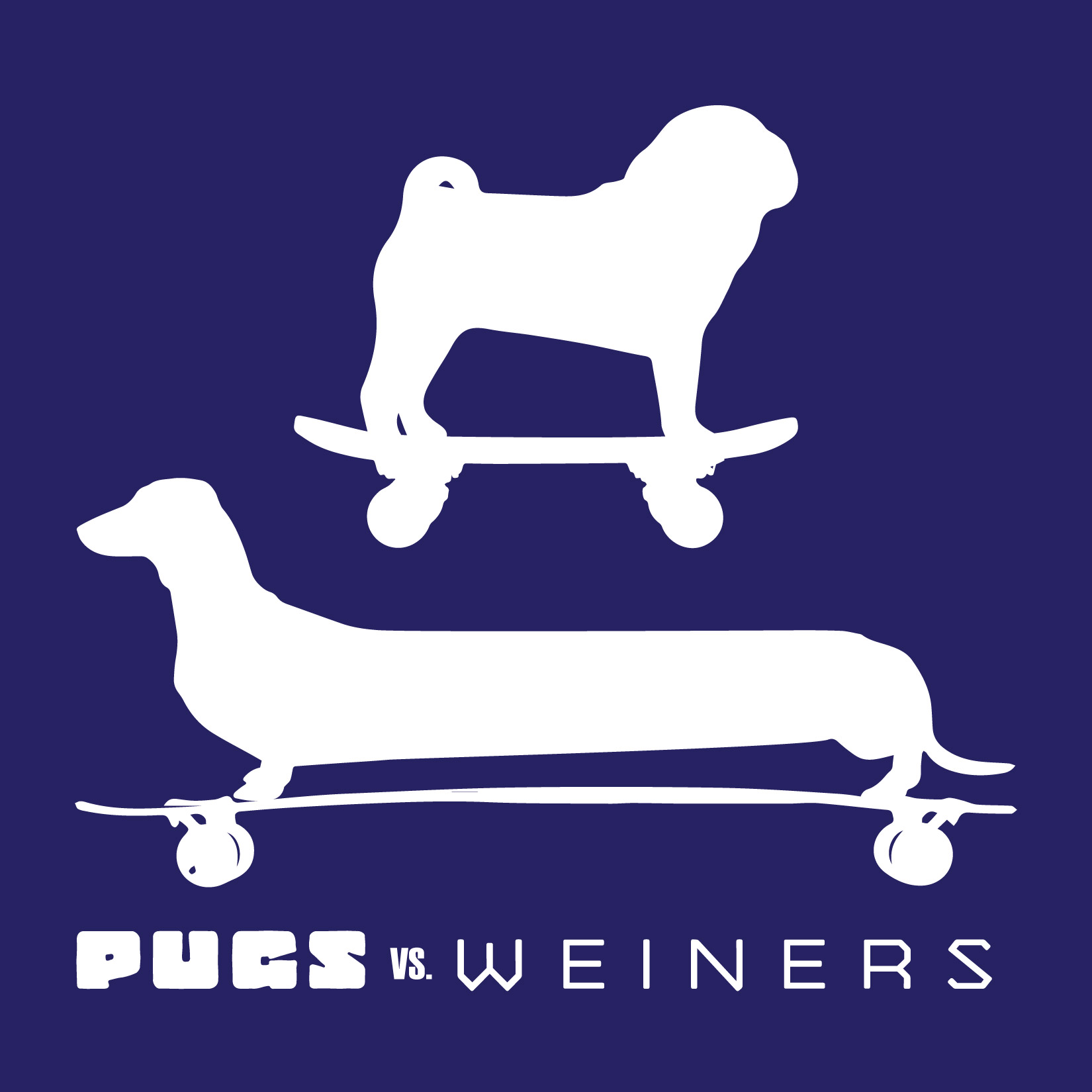 day 290: pugs vs. weiner dogs