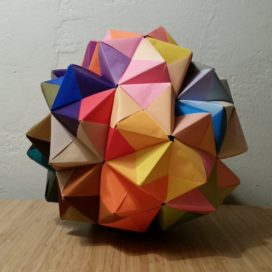 Day 362: Sonobe Unit Modular Origami