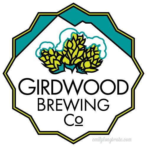 Girdwood Brewing Company Logo Designs