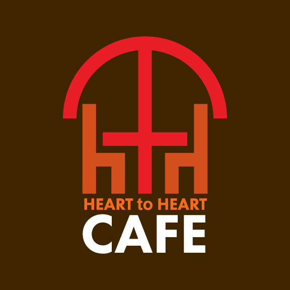 heart to heart cafe logo design-02