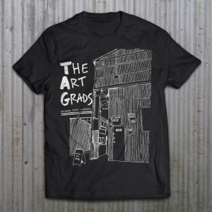 The Art Grads T-shirt Design By Kate Horvat