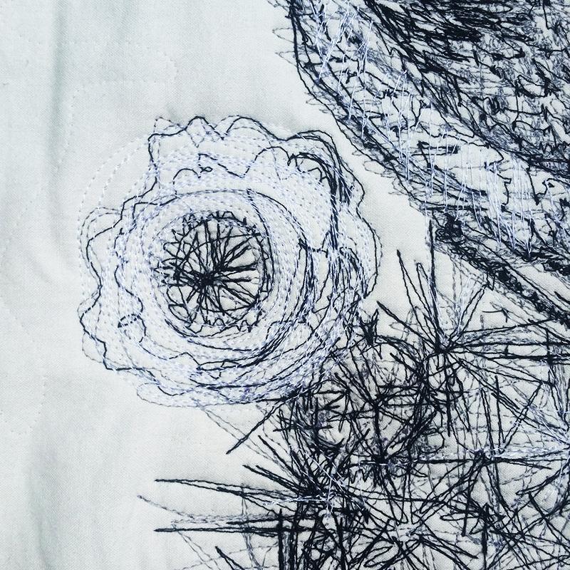 cactus wren quilt 2