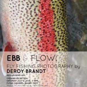 Ebb And Flow Deroy Brandt Letter Poster