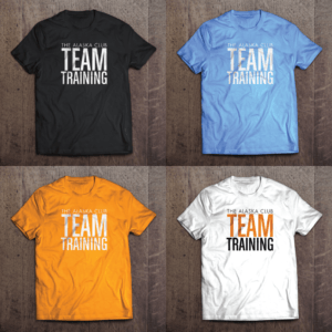 The Alaska Club Team Training Shirt Designs