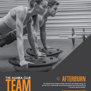 The Alaska Club Team Training Posters 4