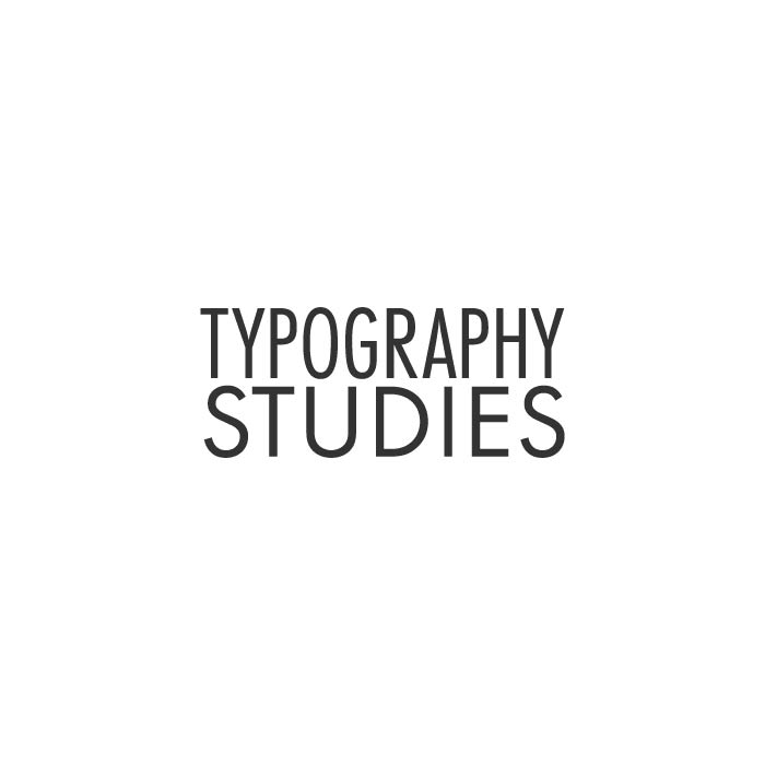 Typography Studies