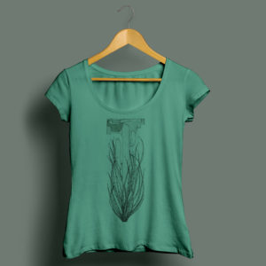 Ocotillo Tee Green