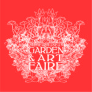 2017 Pmgaf Palmer Museum Garden And Art Faire Tshirt Design One Color Dark