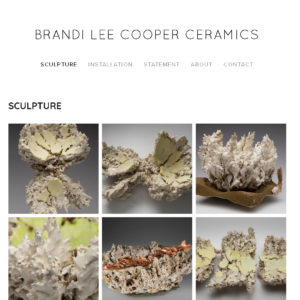 Brandi Lee Cooper Ceramics Website