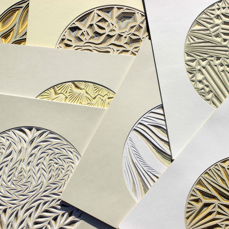 Concinnity Series Of Paper Cuts