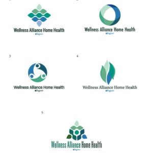 Wellness Alliance Home Health Logo Design Drafts 02