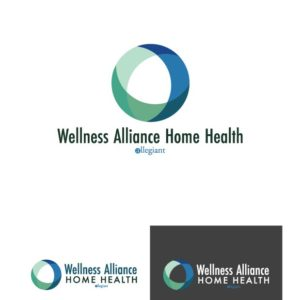 Wellness Alliance Home Health Logo Design Drafts 05