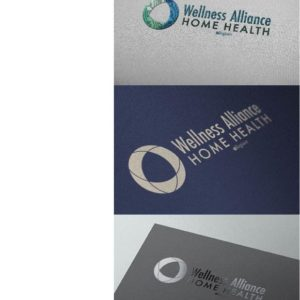 Wellness Alliance Home Health Logo Design Drafts 06