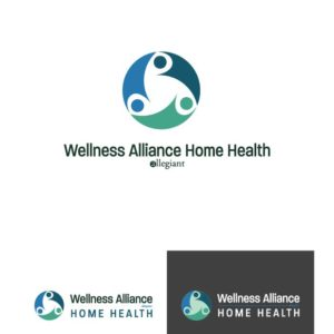 Wellness Alliance Home Health Logo Design Drafts 07
