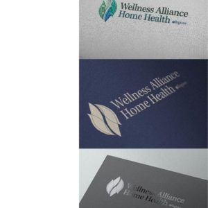 Wellness Alliance Home Health Logo Design Drafts 10