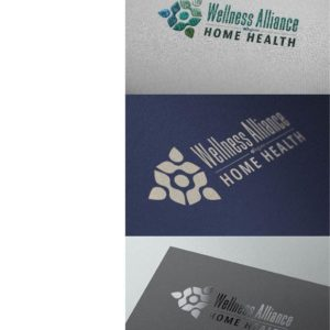 Wellness Alliance Home Health Logo Design Drafts 12