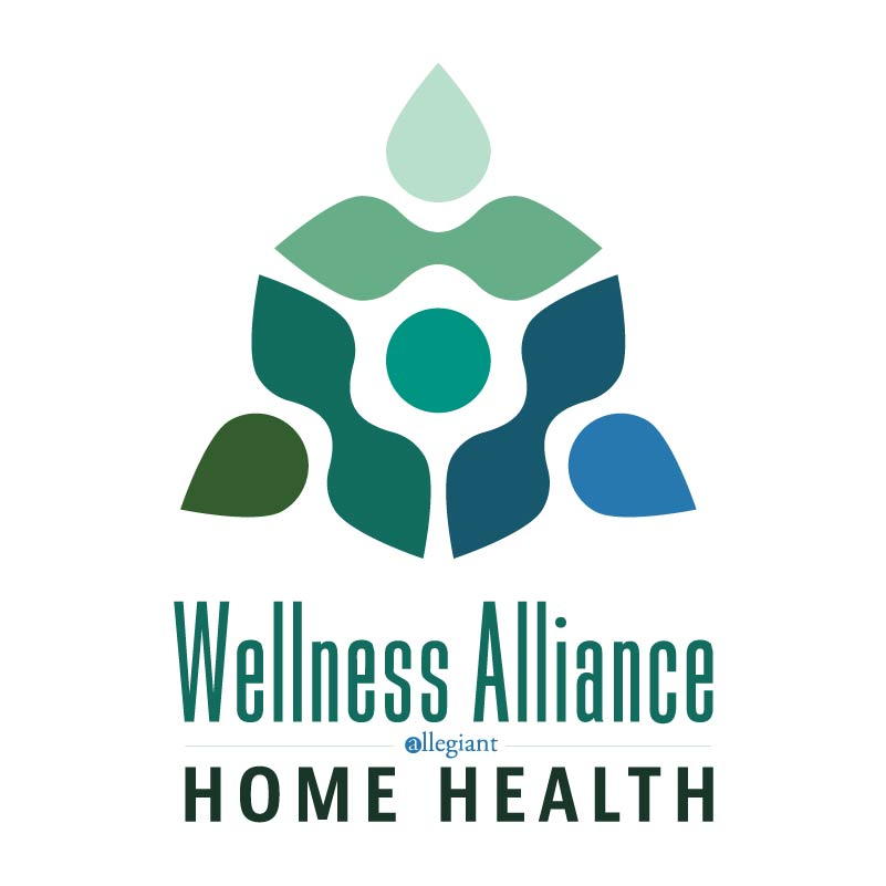 Wellness Alliance Home Health Logo Design Drafts Featured