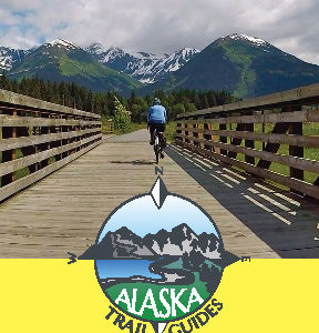 Alaska Trail Guides Rack Card 1
