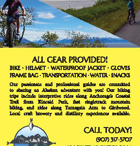 Alaska Trail Guides Rack Card 2