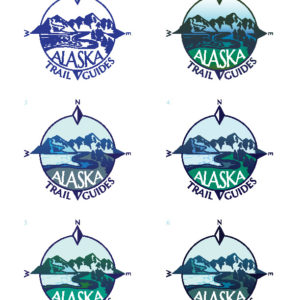 Alaska Trail Guides Logo Samples