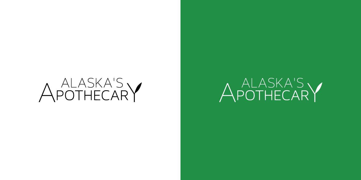 Alaska's Apothecary logo design