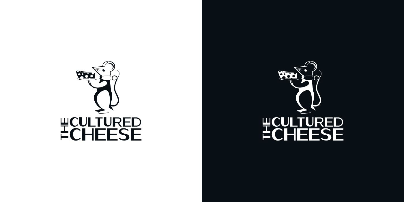The Cultured Cheese logo design