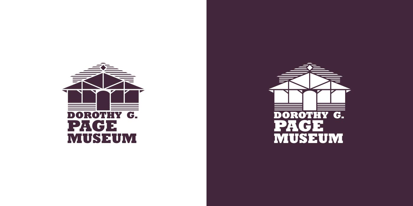 Dorothy Page Museum Wasilla logo design