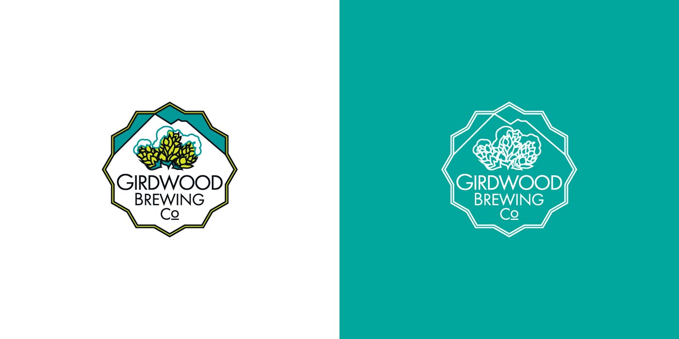 Girdwood Brewing Company logo design