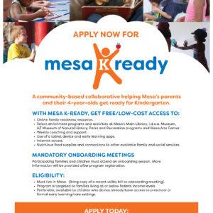Mesa K Ready Flyer 1