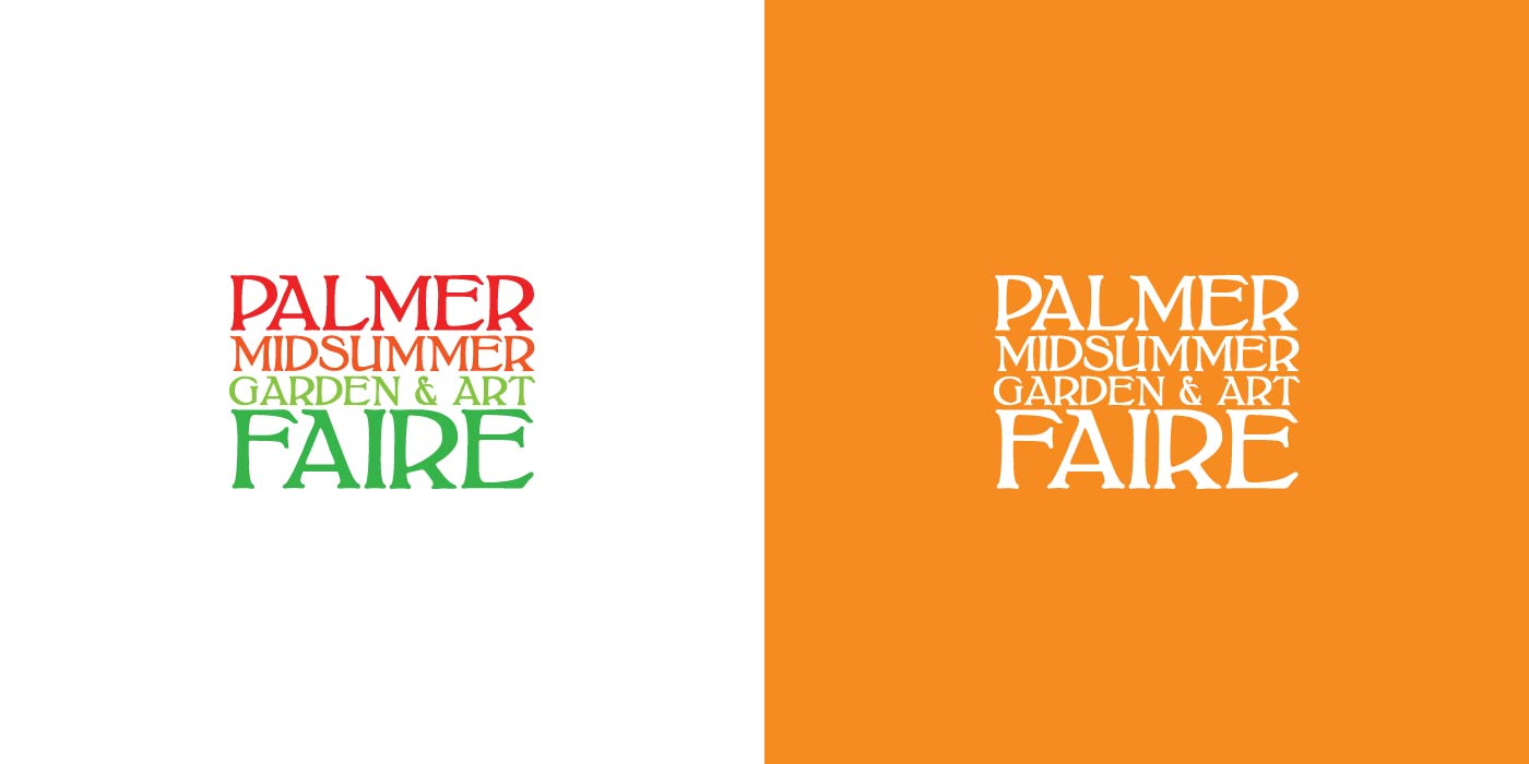 Palmer Museum Garden and Art Faire logo design