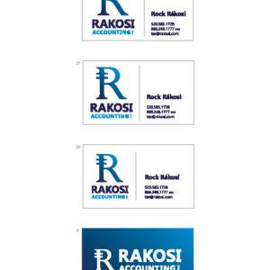 Rakosi Accounting Business Cards