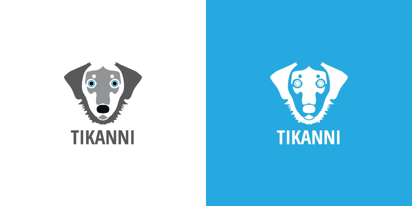 Tikanni Kennel logo design